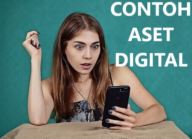 contoh aset digital